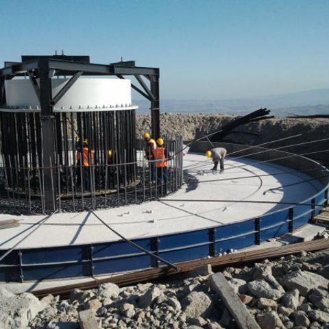 Enerjisa Bares Wpp Project (Bares Rüzgar Enerjisi Santrali Projesi) İşine Ait Türbin Ve Platformların Temel Kazısı, Geri Dolgusu Agrega Malzemesi Temini Ve Nakli İşi