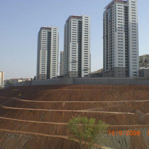 Dikmen Vadisi 3.Etap Rekreasyon Alanı İnşaatı Kapsamında Yaşayan Duvar İmalatı Yapımı