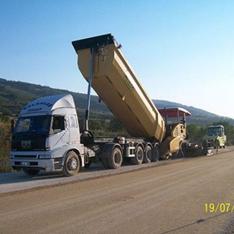 TCK 7.Bölge Müdr.Amasya – Turhal – Tokat – 16 Bl.Hd. Yolu Toprak Tesviye, Sanat Yapıları Ve Üstyapı İşleri Yapım İşi (Km 20+000 – 45+000)