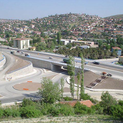 Konya Samsun Yolu Üzeri Samsun Çevre Otoyolu Mamak Köprüsü Arası Km40+000-33+160 Yol Genişletme İkmal Ve Mamak